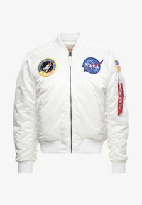 Alpha Industries - NASA - Bomberjacks - white - 3