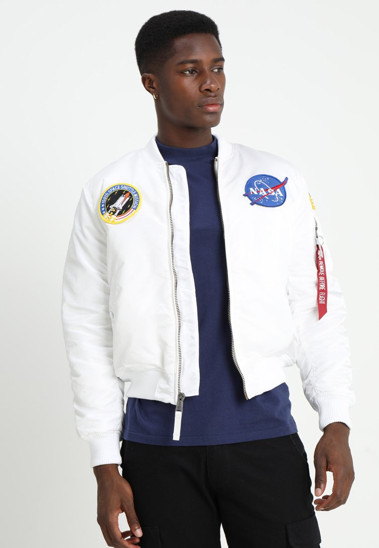 Alpha Industries - NASA - Bomberjacke - white