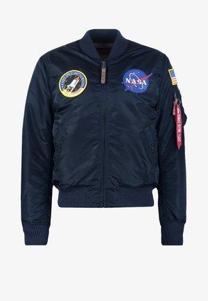 NASA - Blouson Bomber - replica blue