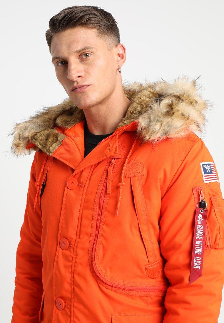 Industries D'hiverFlame Industries Orange Alpha Alpha Veste zLpMqGjSUV