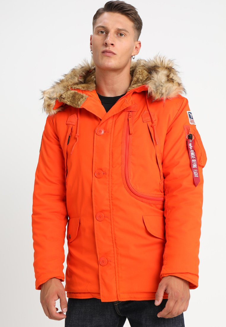 Alpha Industries - Parkas - flame orange