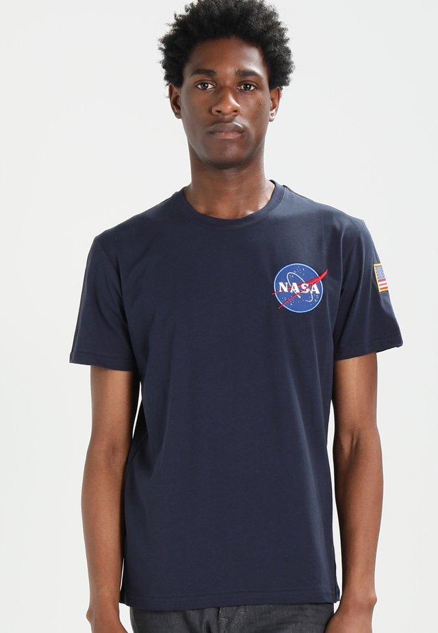 176507 - T-shirt con stampa - blue