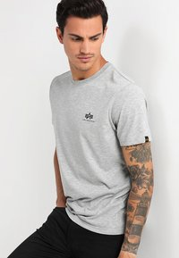 Alpha Industries - T-shirt basique - grey heather - 0