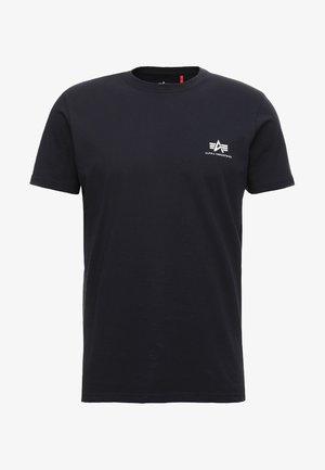 Jednoduché triko - rep blue