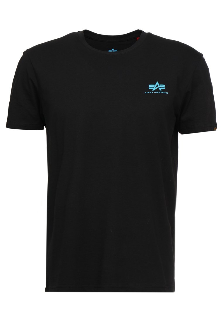Alpha Industries T-shirt basic - black/blue