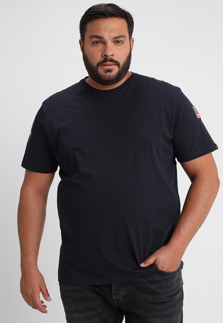 Alpha Industries - NASA T BIG - T-shirts med print - rep blue
