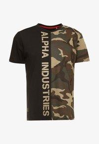 Alpha Industries - T-shirt print - woodland - 3