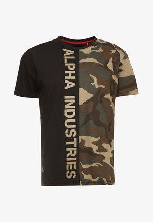T-shirt print - woodland