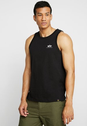 SMALL LOGO TANK - Top - black