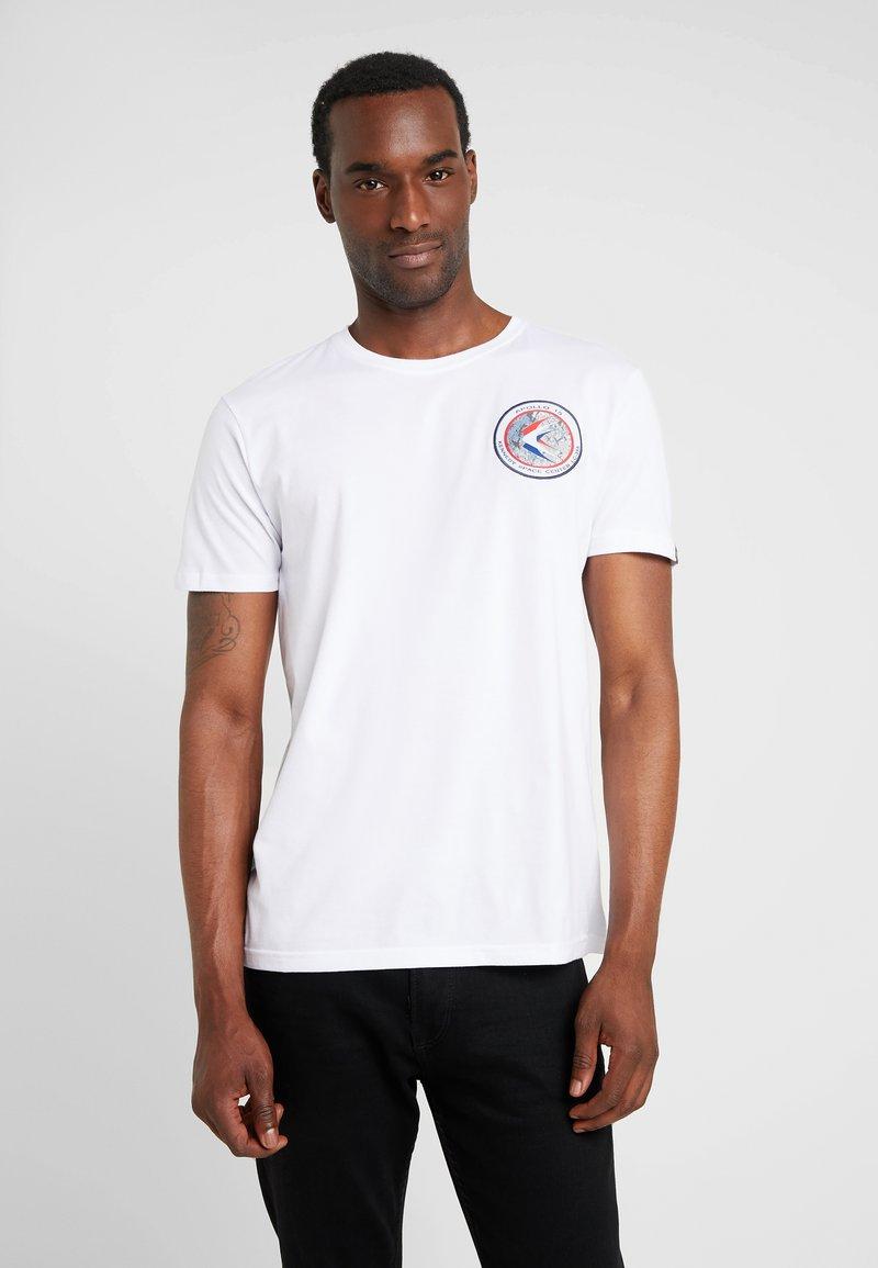Alpha Industries - Print T-shirt - white