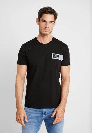 REFLECTIVE STRIPES  - T-shirts print - black