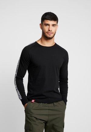 TAPE - Långärmad tröja - black