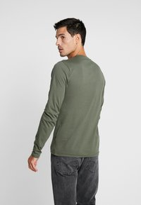 Alpha Industries - CAMO BLOCK  - Långärmad tröja - dark olive - 2
