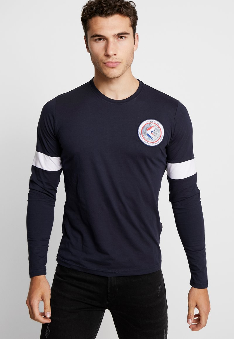Alpha Industries - Long sleeved top - rep blue/white