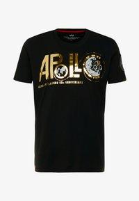 Alpha Industries - ANNIVERSARY CAPSULE - T-shirt print - black - 4