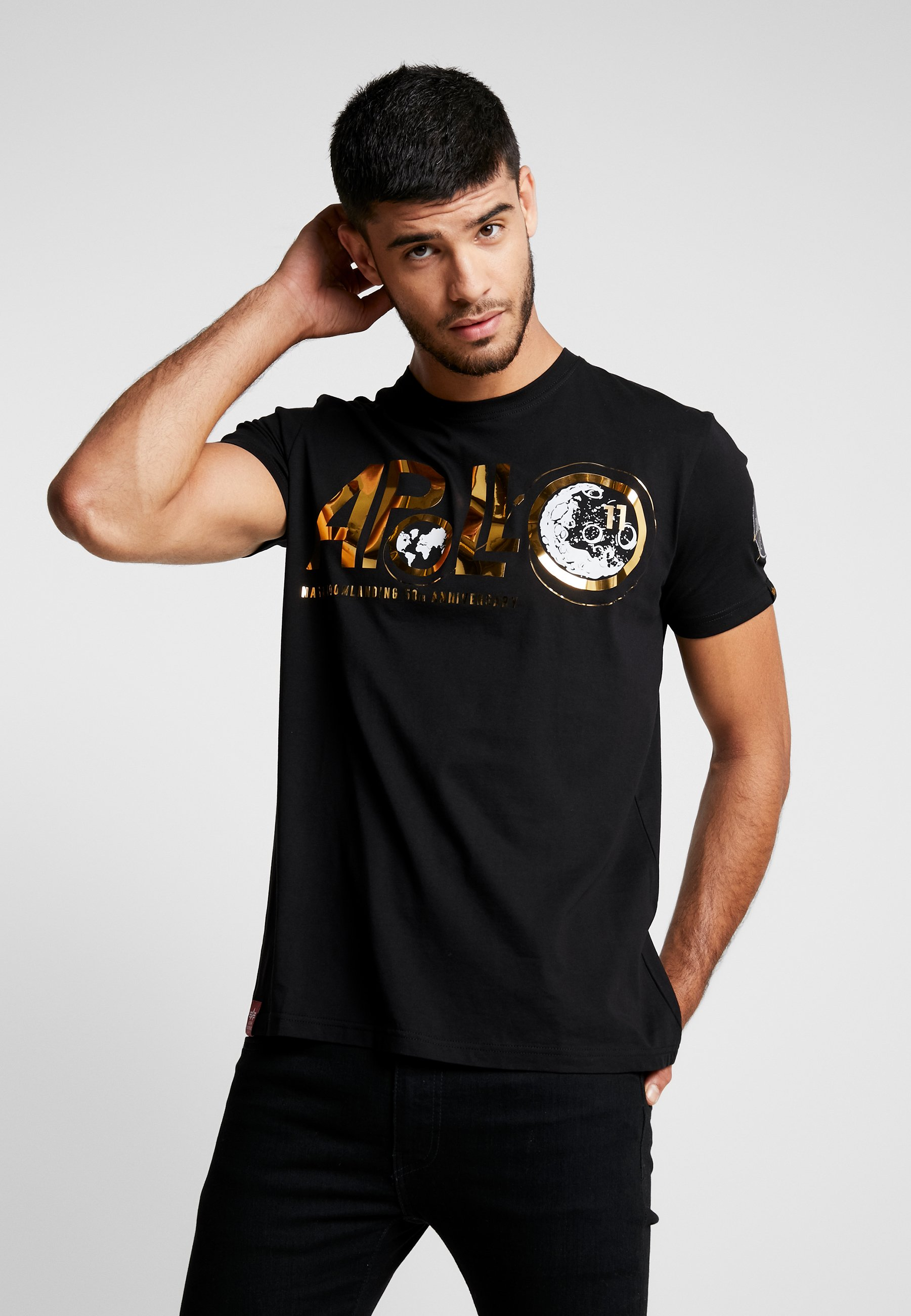 shirt Con CapsuleT Black Industries Anniversary Alpha Stampa oeBWrCdx