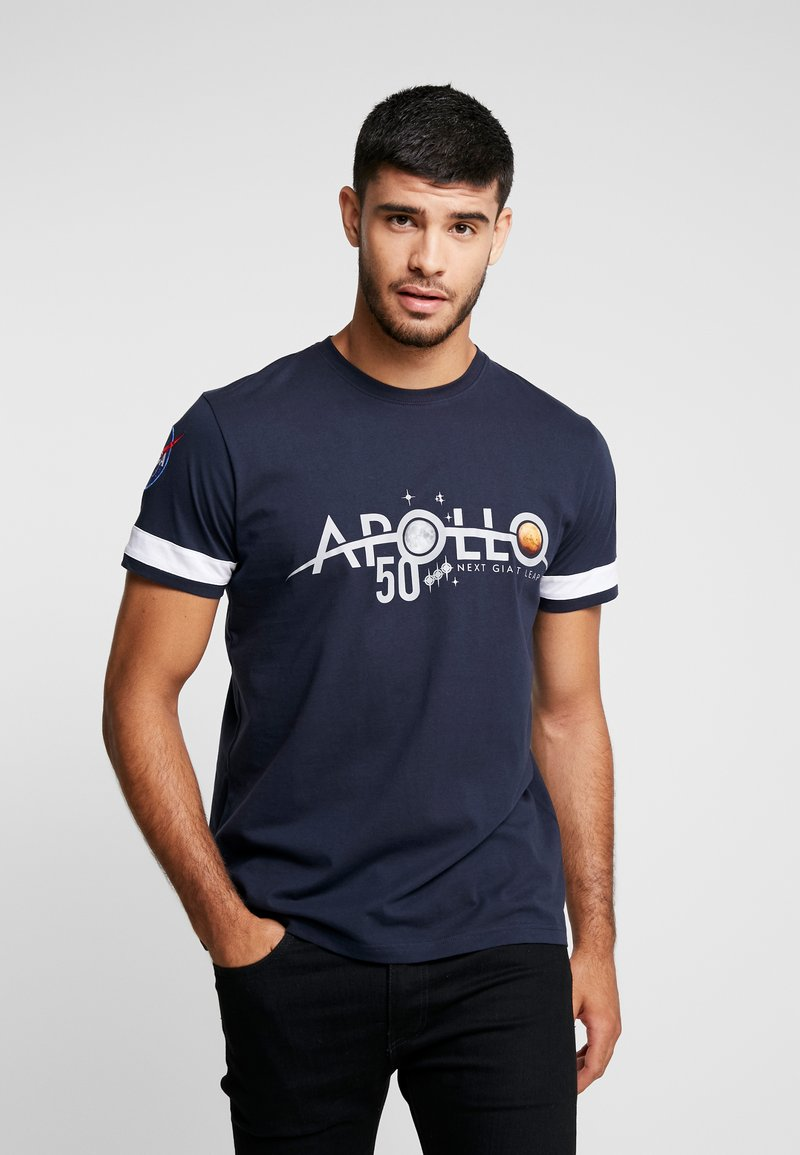 Alpha Industries - REFLECTIVE ANNIVERSARY CAPSULE - T-shirt print - rep blue