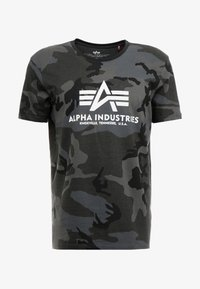 Alpha Industries - T-shirts med print - black - 3