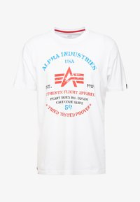 Alpha Industries - T-shirts print - white - 4