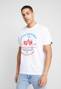 Alpha Industries - T-shirts print - white - 0