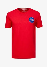 Alpha Industries - T-shirt con stampa - speed red - 3