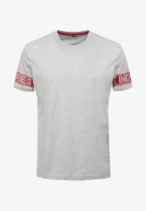 T-shirt print - grey heather