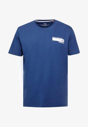 T-shirt print - new navy