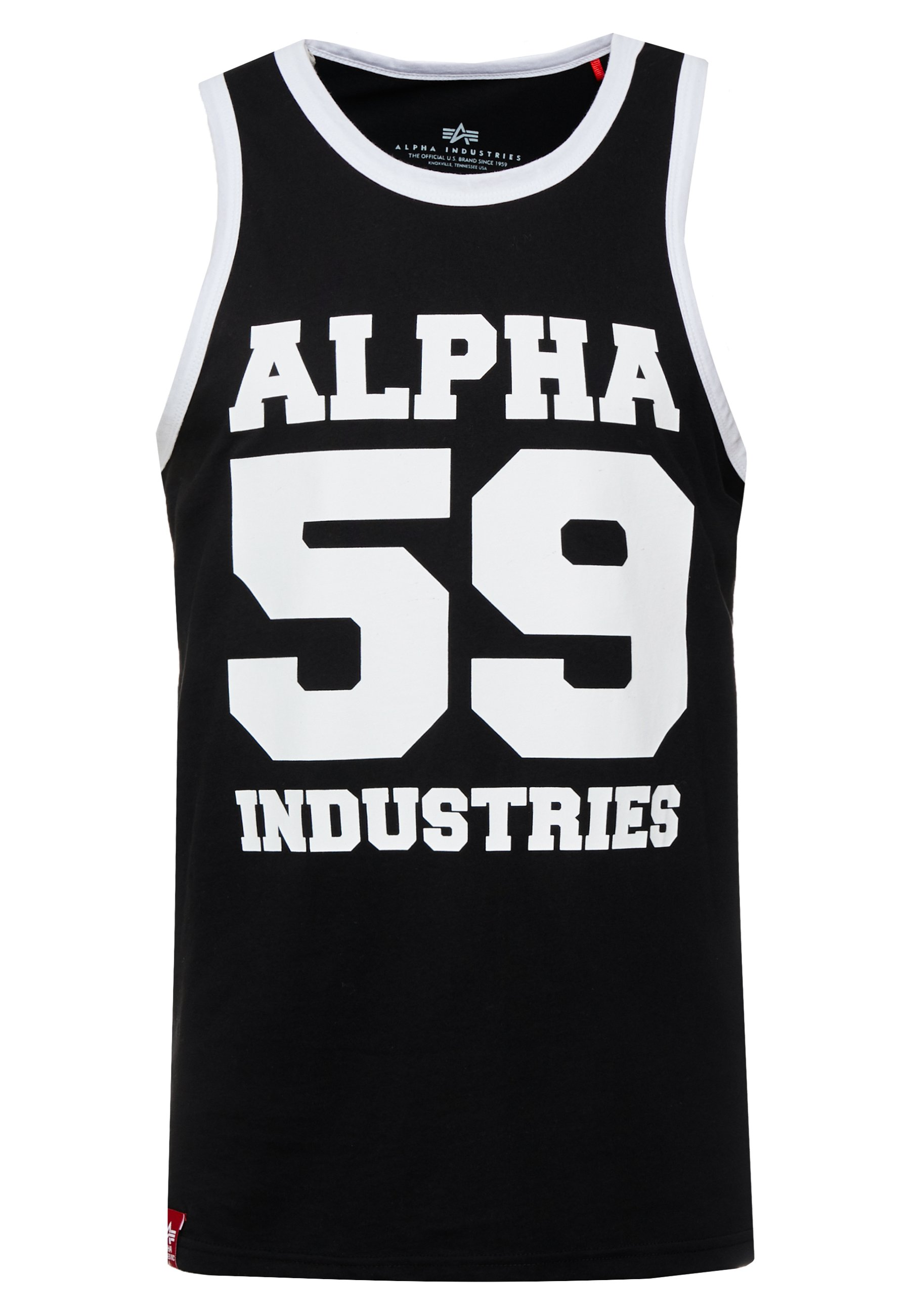 Alpha Industries Top - black