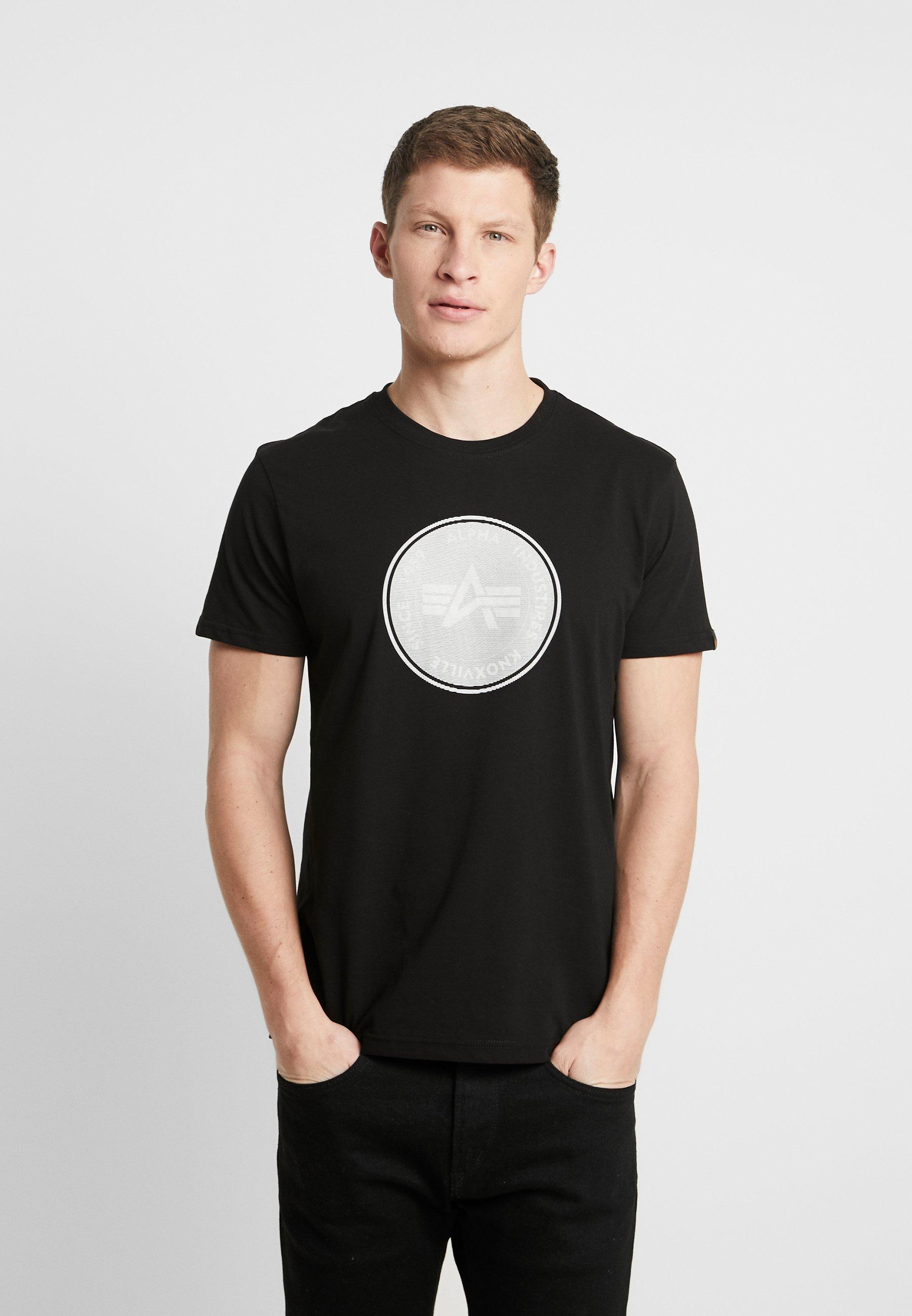 Alpha Industries Camiseta estampada black