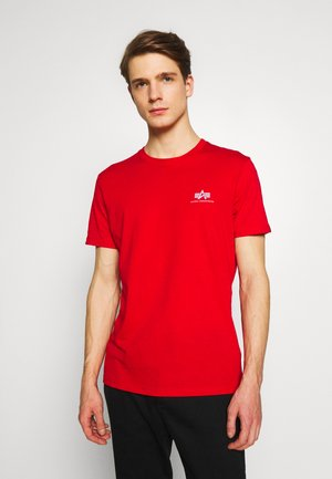 Camiseta estampada - speed red