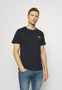 Alpha Industries - Camiseta estampada - rep blue