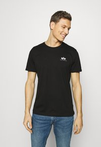 Alpha Industries - Camiseta estampada - black - 2