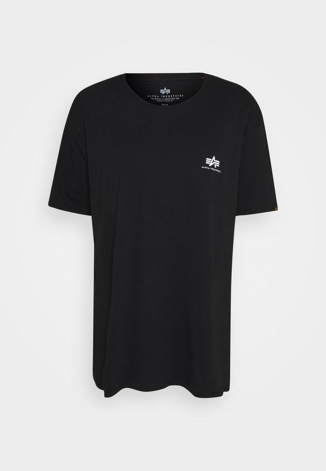 BACK PRINT - T-shirt imprimé - black