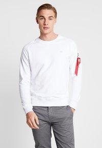 Alpha Industries - X FIT  - Sweatshirt - white - 0