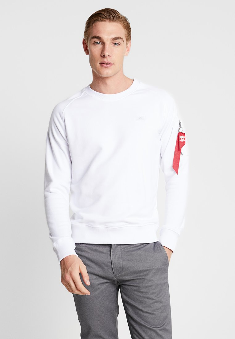 Alpha Industries - X FIT  - Sweater - white