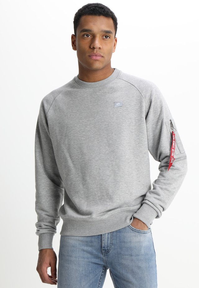 X FIT SWEAT - Collegepaita - grey heather