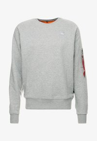 Alpha Industries - Sweatshirt - grey heather - 4