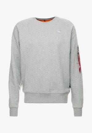 X FIT SWEAT - Sweatshirt - grey heather