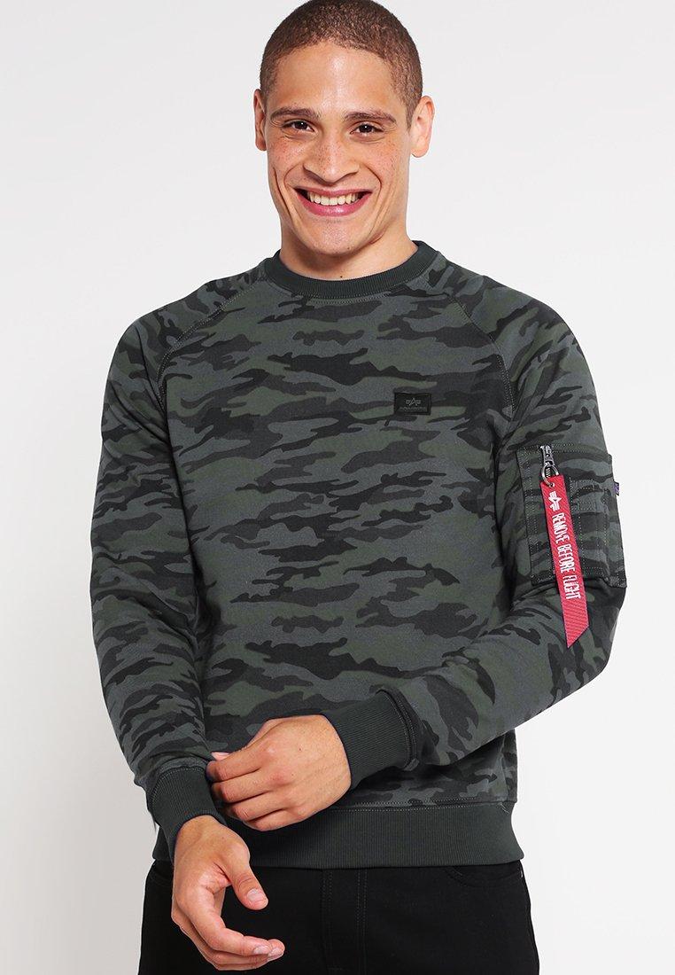 Alpha Industries - X FIT SWEAT - Sweatshirt - black