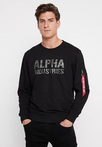 Alpha Industries - Sweatshirt - black - 0