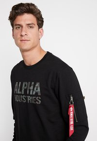Alpha Industries - Sweatshirt - black - 4