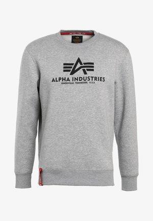 BASIC SWEATER - Sweatshirt - grey heather