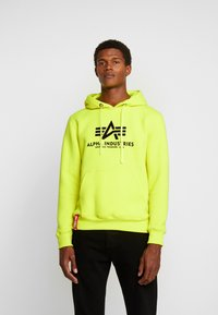 Alpha Industries - Luvtröja - neon yellow - 0