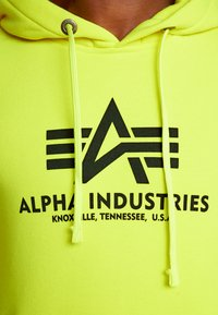 Alpha Industries - Luvtröja - neon yellow - 5