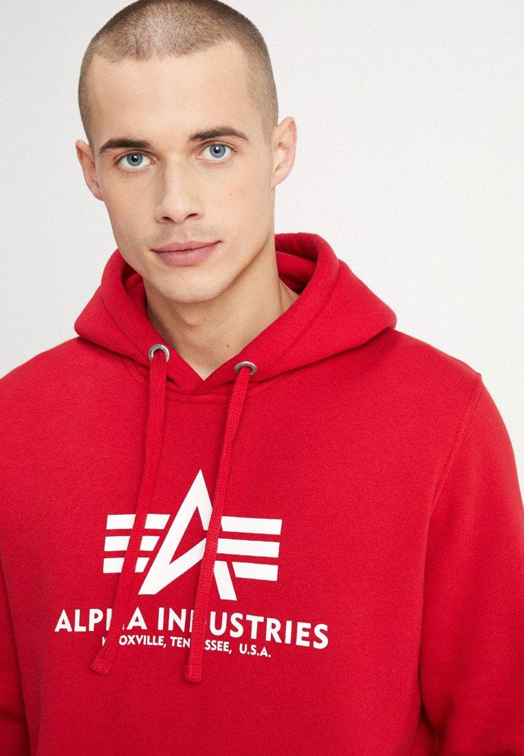 Alpha Industries Hoodie - speed red