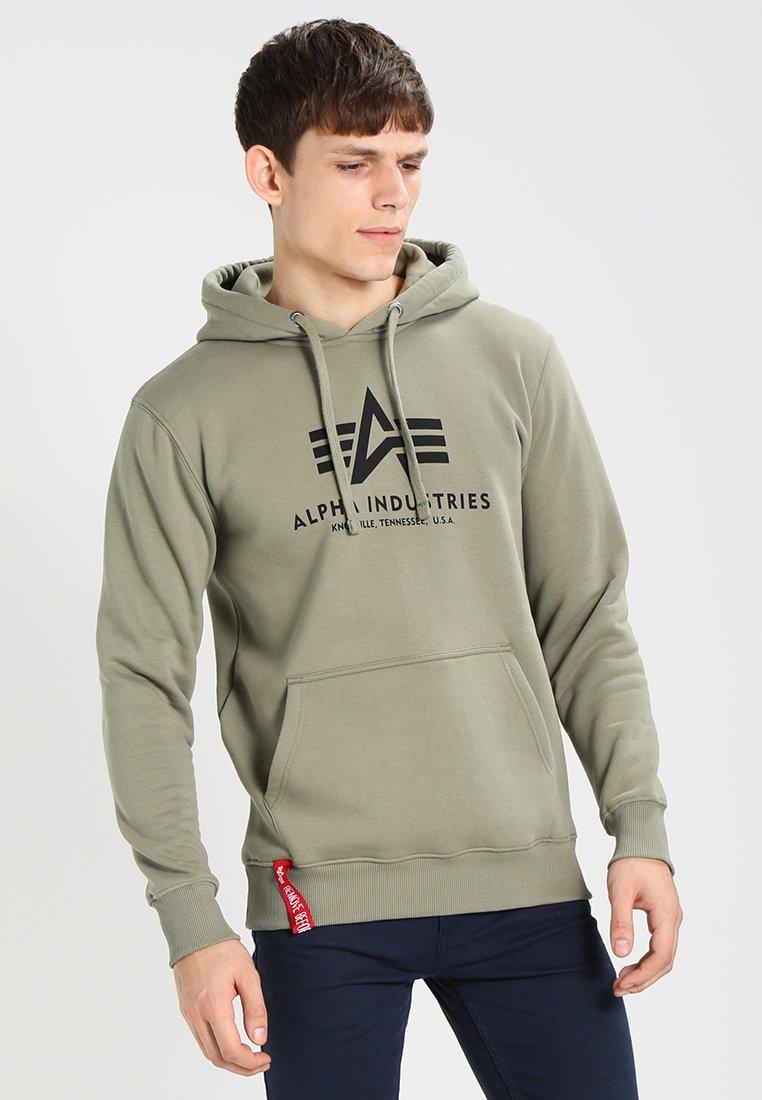 Alpha Industries - Kapuzenpullover - oliv