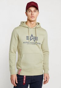 Alpha Industries - Luvtröja - light olive - 0