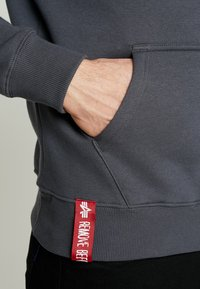 Alpha Industries - Sweat à capuche - grey black/black - 5
