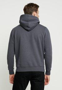 Alpha Industries - Sweat à capuche - grey black/black - 2
