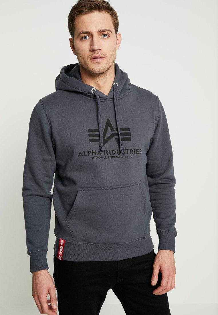 Alpha Industries - Sweat à capuche - grey black/black